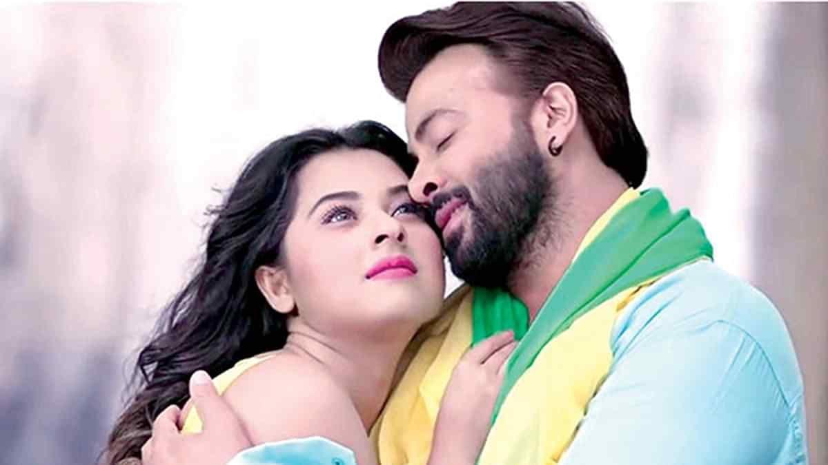 'পাসওয়ার্ড' ছবিতে অভিনয় করেছেন বুবলি ও শাকিব খান